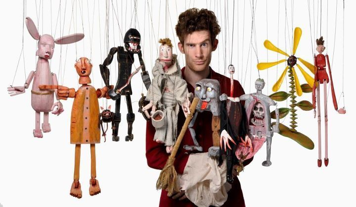 Artist and puppeteer Madison J. Cripps will appear at the Puppet Festival at Pinocchio's Marionette Theater.