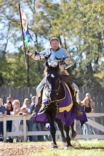 "Shane Adams, host of ""Full Metal Joust"" on the History Channel, will bring his troupe from Knights of Valour to bring a true to life experience to thousands at the Lady of the Lakes Renaissance Faire."