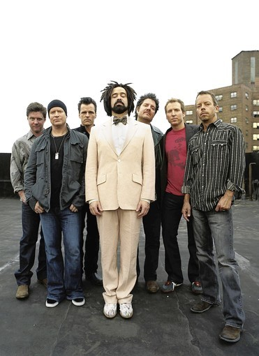 Singer Adam Duritz (center, front) and Counting Crows will perform Sunday, Nov. 4, at Hard Rock Live.