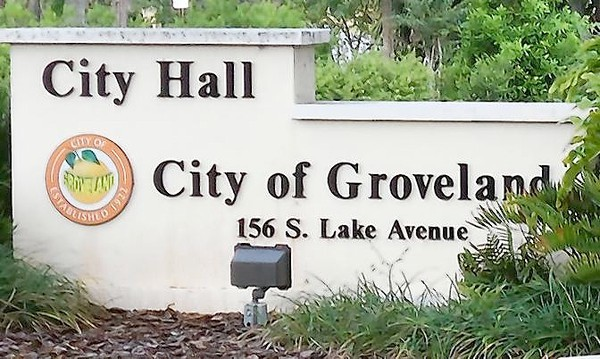 Groveland City Hall.