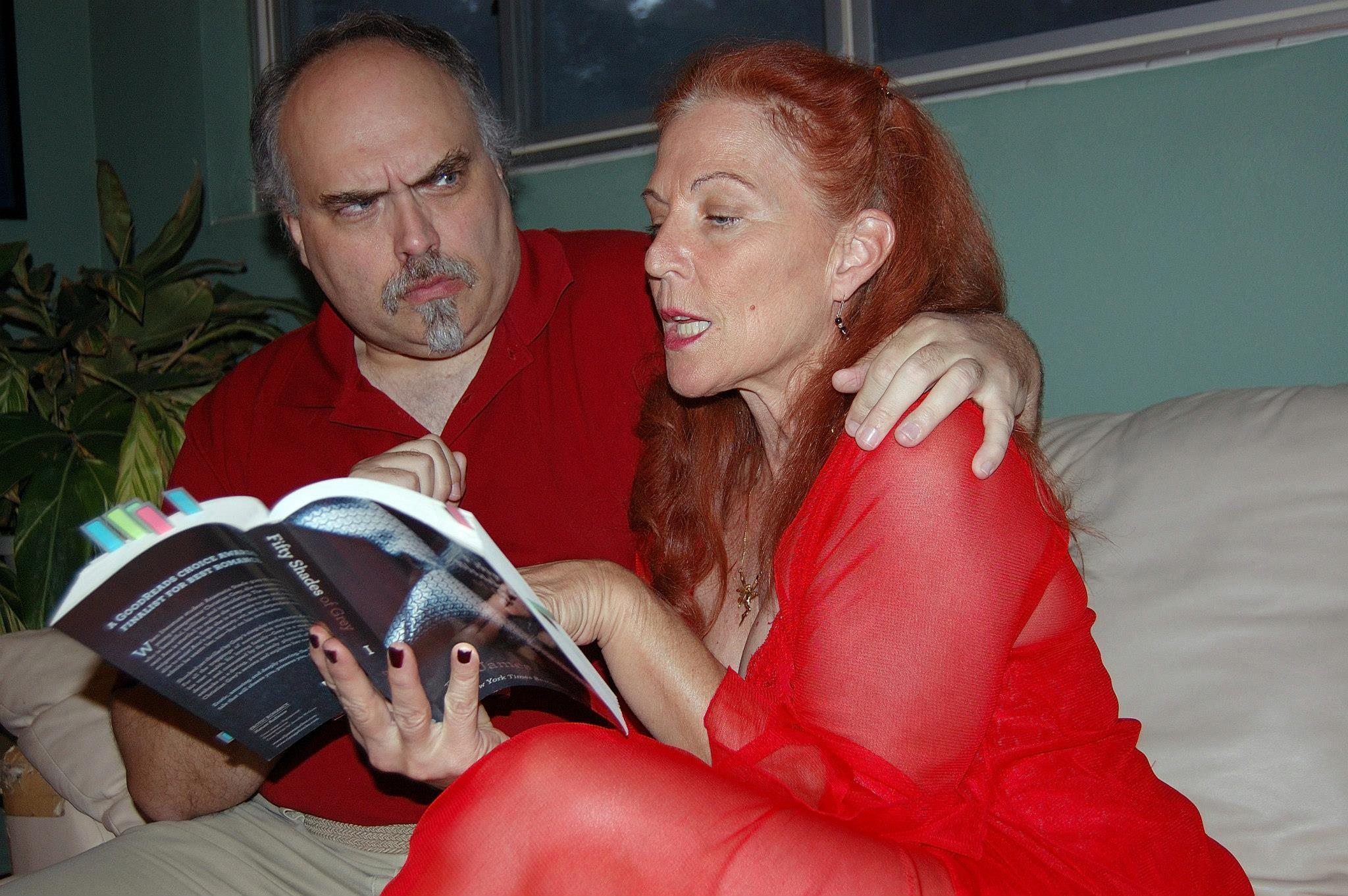 "Charles Dent and Kendra Musselle in Katie Thayer's ""Sex."""