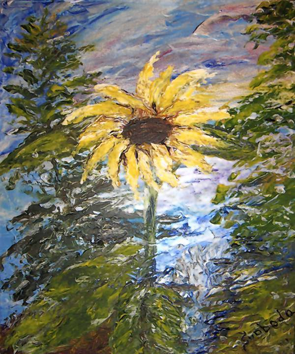 """Sunflower"" by Svobota Holt"