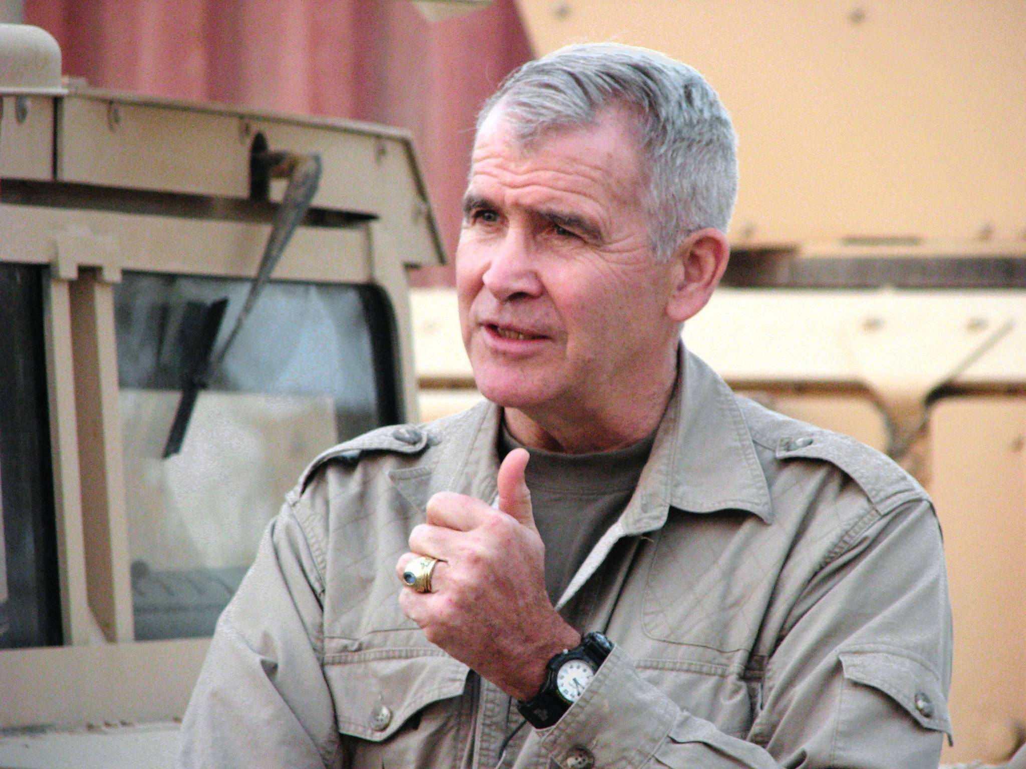 Retired Marine Lt. Col. Oliver North.