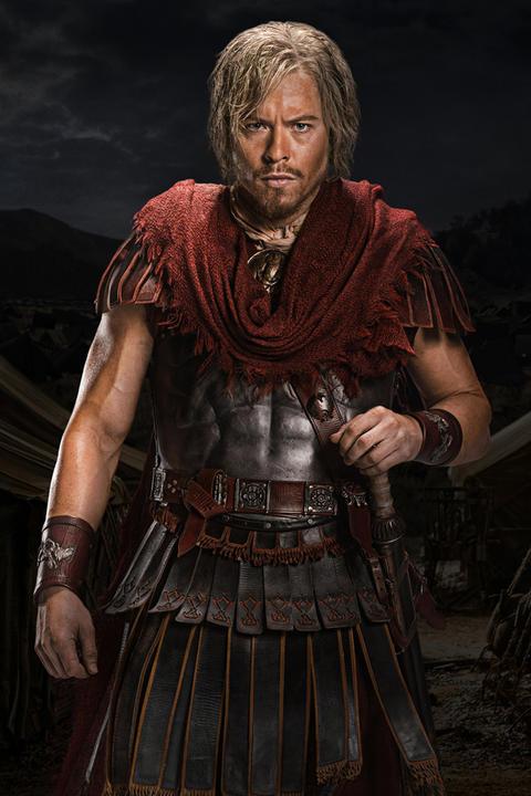 spartacus gladiators names