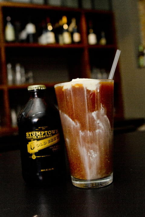 Stumptown cold brew float at Reno, 2607 N. Milwaukee Ave.