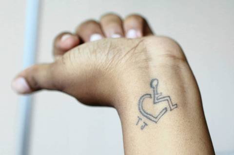 Our most fragile chicago tribune for Cerebral palsy tattoo