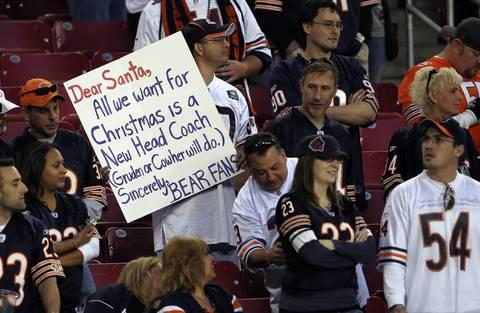 Bears fans still want Lovie Smith fired.