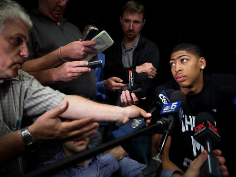 Chicago native Anthony Davis, who won the national title with Kentucky in April, was selected first in the NBA draft by the Hornets. Click here to read more about Davis' story.