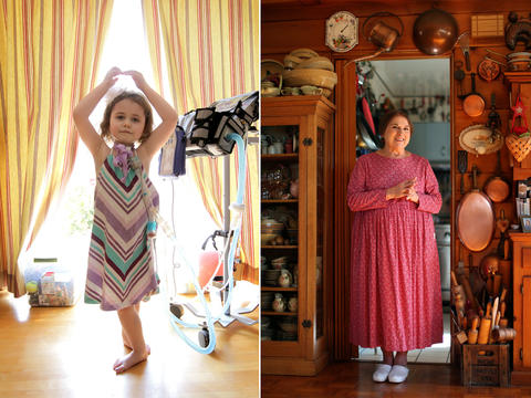 LEFT: Sydney Peterson, 5, shows off her ballet skills in her Lisle home July 6. Sydney has a medically fragile condition that requires costly at-home nursing care. Her family is among a group of Illinois residents who filed a class-action lawsuit to stop changes to a state program that funds in-home nursing care for 1,050 medically fragile and technology-dependent children. (Alex Garcia, Chicago Tribune) Go here to read more about Sydney. RIGHT: Betty Koeing, who grew up on a farm in northern Wisconsin and now lives in Hammond, Ind., won second place in the Tribune's 2012 Holiday Cookie Contest. Her recipe for chocolate almond shortbread was inspired by a gift she received from her daughter: a bag of almond meal. (Scott Strazzante, Chicago Tribune) Go here to read more about the contest winners.