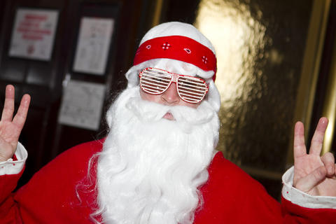 SantaCon 2012 kicks off at the Congress Plaza Hotel (520 S. Michigan Avenue) on Saturday, December 8, 2012.