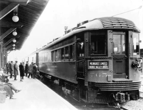 The Milwaukee Limited was a high-speed train that was capable of traveling at 70 miles an hour or more in 1931 on the Skokie Valley Route of the North Shore electric train line. The all-steel train carried commuters between Chicago and Milwaukee until it shut down in 1963.