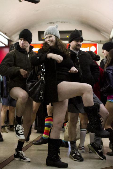 RedEye - 2013 No Pants Subway Ride - 2013 No Pants Subway Ride