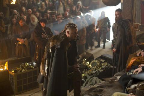 Ragnar goes before Earl Haraldson.