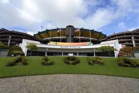 General view of Aloha Stadium.