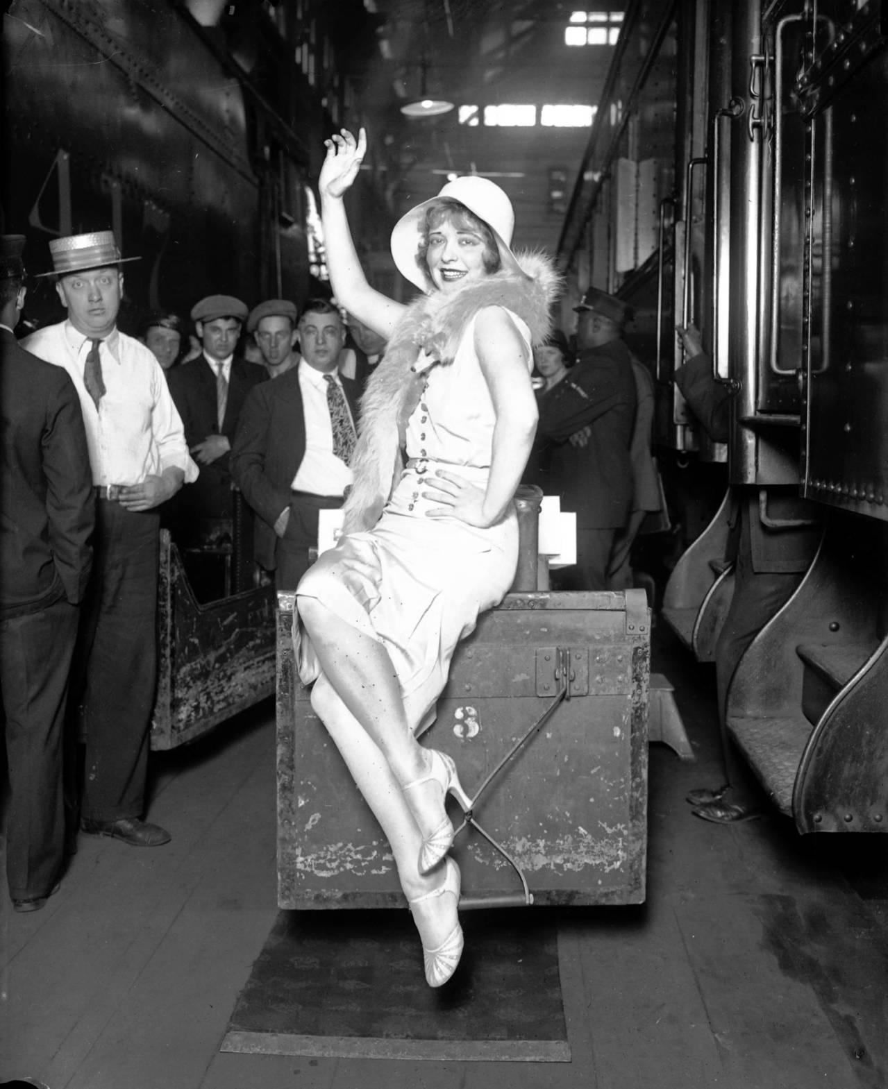 Film actress Clara Bow, Jul. 7 1930. Bow was the original
