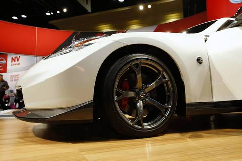 The 2014 Nissan Nismo 370Z at the 2013 Chicago Auto Show at McCormick