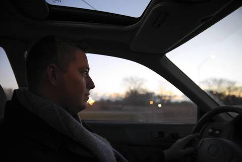 On opening day, chef Curtis Duffy drives Lake Shore Drive on his way to work, about 10 hours before Grace's opening.
