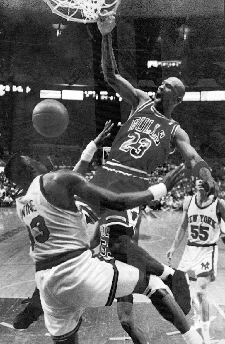 April 30 1991 The Bulls Trailed Knicks 54 50 In Second