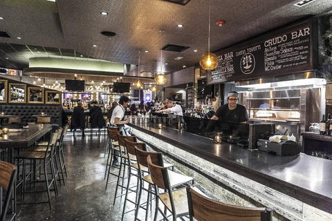 The bar at Siena Tavern, 51 W. Kinzie St. Check out our staff picks for Chicago pizza.