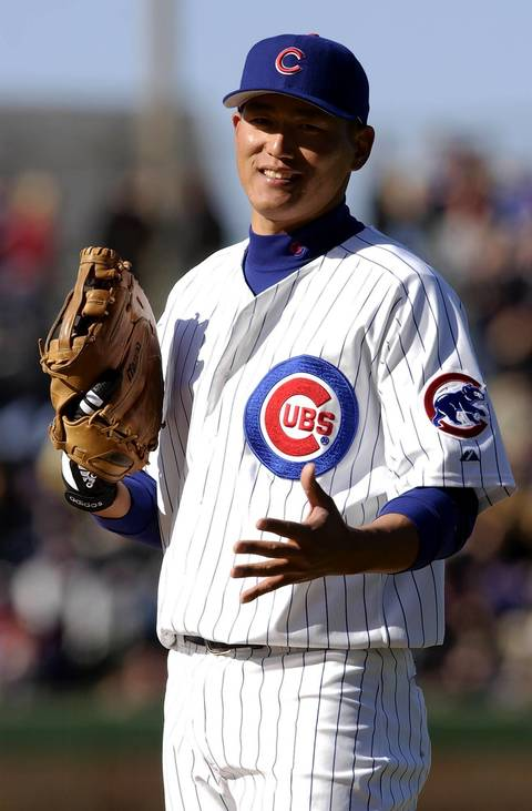 """Hee Seop Choi: The South Korean first baseman came through the system with great hype, and his on-field collision with Kerry Wood during a Yankees game at Wrigley Field in 2003 only increased his popularity. Choi was moved to the Marlins for Derrek Lee after the season, angering a large segment of fans. When Lee struggled in April of '04, Cubs fans chanted: """"Hee Seop Choi."""" Choi wound up a .240 hitter over six seasons."""