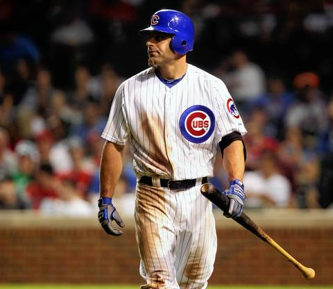 """Reed Johnson: In his first term with the Cubs in 2008, Johnson made a diving catch of Felipe Lopez's line shot to left-center field in Washington, slamming into the outfield wall and getting up with his cap askew. """"At Wrigley Field they might have had to call a timeout to find his head in the vines,"""" manager Lou Piniella said. Johnson was a dependable backup in two terms with the Cubs, and dressed up as general manager Jed Hoyer last season on Superhero Day."""