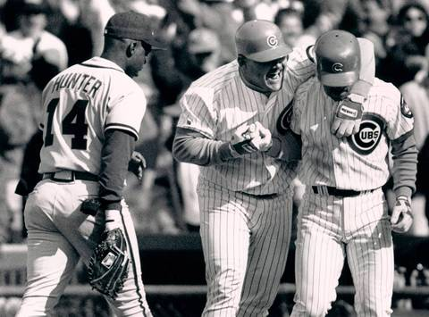 """Hector Villanueva: The portly catcher hit .324 with six home runs in his first 26 games during his rookie season in 1990, and for some reason Cubs announcer Harry Caray really loved saying """"Hec-Tor Vil-la-nueva."""" He lasted three seasons with the Cubs and one more with the Cardinals before his career ended with a .230 average and 25 home runs."""
