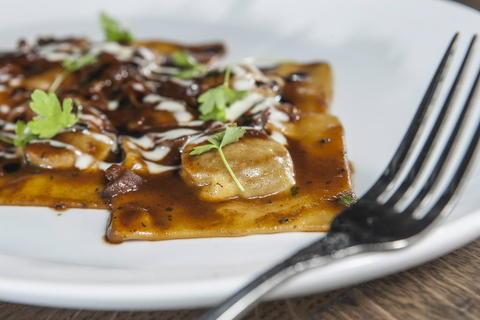 Short rib ravioli at Siena Tavern, 51 W. Kinzie St. Check out our staff picks for Chicago pizza.