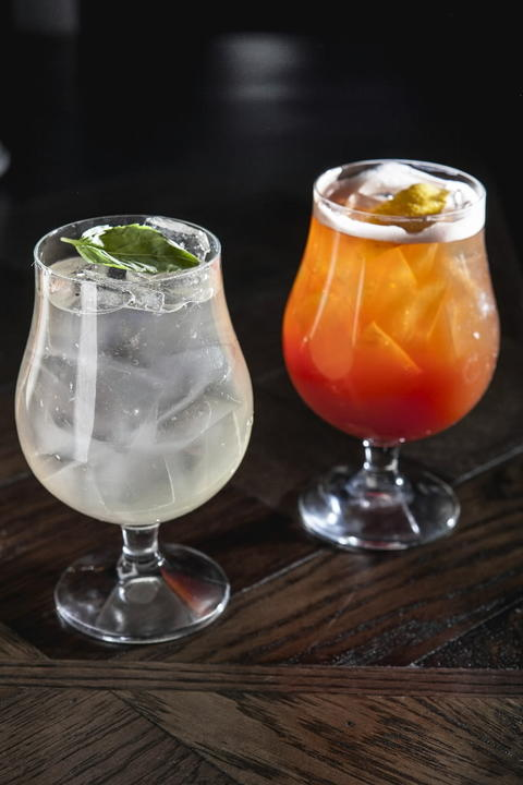 Cocktails no. 11 and 5 at Siena Tavern, 51 W. Kinzie St. Check out our staff picks for Chicago pizza.