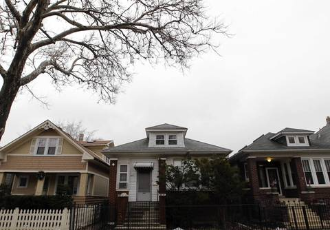 Ruth Steinhagen lived a reclusive life in the house at center in the 5000 block of Sawyer Avenue on Chicago's Northwest Side.