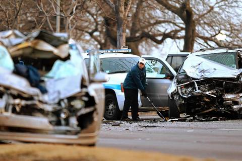 Chicago Lake Shore Drive Car Accident