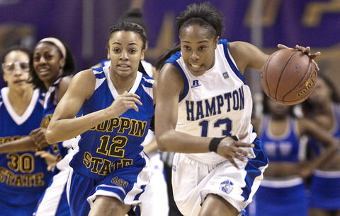 Women's MEAC Tournament HU vs Coppin State held Friday at Norfolk's Scope.