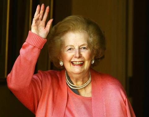 Margaret Thatcher was Britain's Prime Minister from 1979 to 1990.
