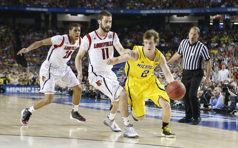 Louisville (March Madness, NCAA Champ, Rick Pitino, Spike Albrecht, Chris Webber) Baltimore Twitter, Google Trends Why: Spike Albrecht, the freshman backup for national player of the year Trey Burke, lit the NCAA championship on fire Monday night, scoring 17 points in an improb