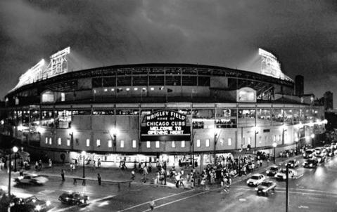 The last major league ballpark where night games were not played finally turned on the lights on Aug. 8, 1988.