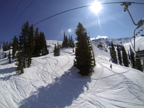 Scenes from spring skiing at Alta, Utah -- April 3 to April 6, 2013.   (Joe Burbank/Orlando Sentinel)