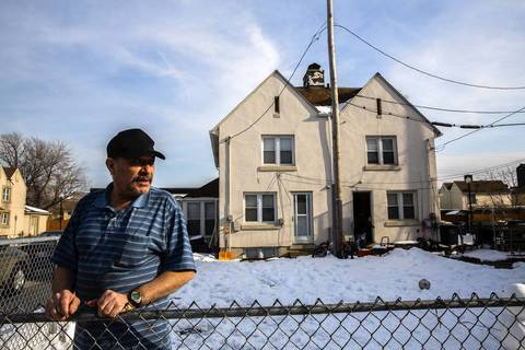 Jose Alvarez, 65, moved to Marktown in 1978 and owns several houses with his extended family.