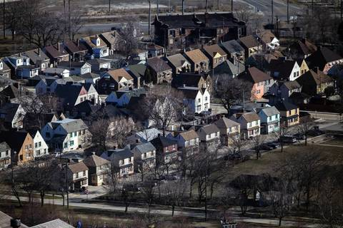 Marktown, a historic company town in East Chicago, Ind., was built to resemble an English village.