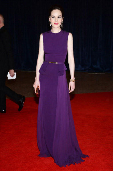 WASHINGTON, DC - APRIL 27: Michelle Dockery attends the White House Correspondents' Association Dinner at the Washington Hilton on April 27, 2013 in Washington, DC. (Photo by Dimitrios Kambouris/Getty Images)
