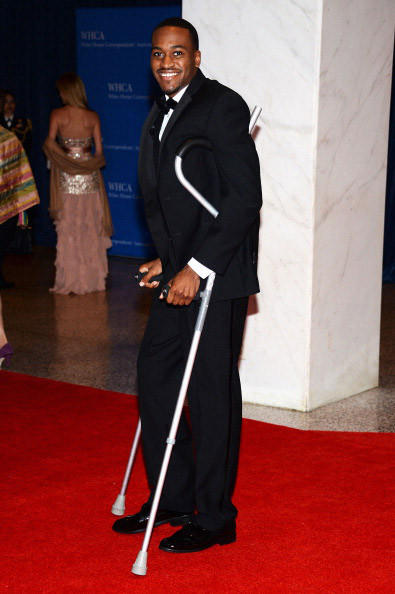 Kevin Ware attends the White House Correspondents' Association Dinner at the Washington Hilton on April 27, 2013 in Washington, DC. (Photo by Dimitrios Kambouris/Getty Images)