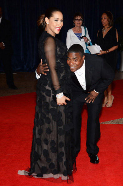 Megan Wollover and actor Tracy Morgan attend the White House Correspondents' Association Dinner at the Washington Hilton on April 27, 2013 in Washington, DC. (Photo by Dimitrios Kambouris/Getty Images)