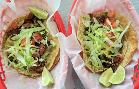 Try the crisp al pastor or meaty carnitas tacos at La Rosita, 131 N. Main St. in Crystal Lake. Read the full review at Chicago Tribune.