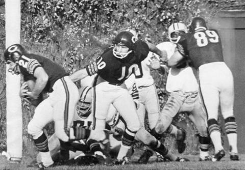 The Bears once called Wrigley and its famous ivy-covered walls home turf.