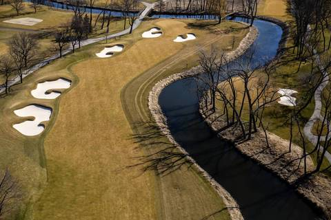 Butler National Golf Club, an exclusive private golf, in Oak Brook.