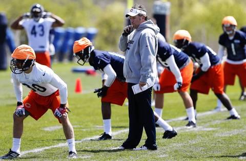 Bears special teams coordinator/assistant head coach Joe DeCamillis.