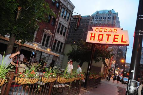 Gold Coast bar Cedar Hotel's sprawling patio is now open for the season.