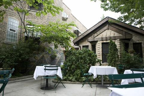 Bistro Campagne in Lincoln Square is known for its French cuisine and picturesque patio.