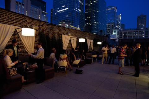 Epic Sky, the rooftop lounge of River North restaurant Epic, is open for the season. It closes for private parties occasionally, so it's worth a call first to check hours.