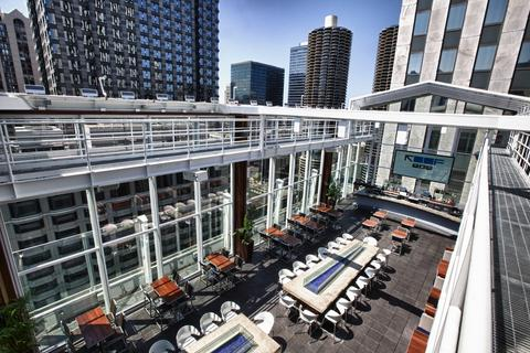 Head to Loop hotel The Wit to party at top-floor bar Roof.