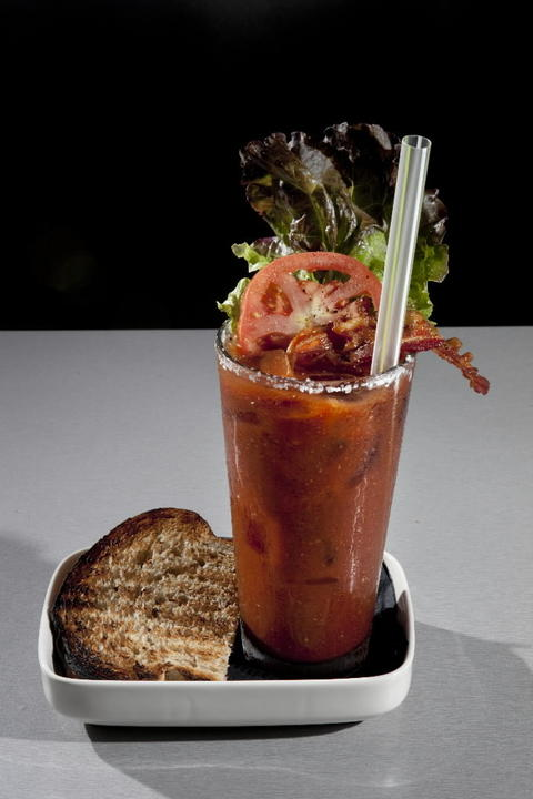 BLT bloody mary at Hash House A Go Go, 1212 N. State Pkwy. Check out the 2013 outdoor dining and drinking guide and the city's top BYOBs.