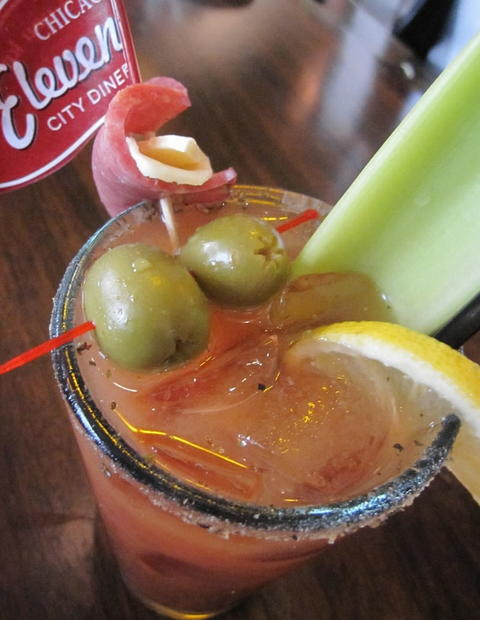 Bloody mary at Eleven City Diner, 1112 S. Wabash St. Check out the 2013 outdoor dining and drinking guide and the city's top BYOBs.